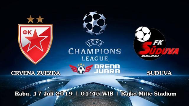 Photo of PREDIKSI BOLA FK CRVENA ZVEZDA VS FK SUDUVA 17 JULI 2019