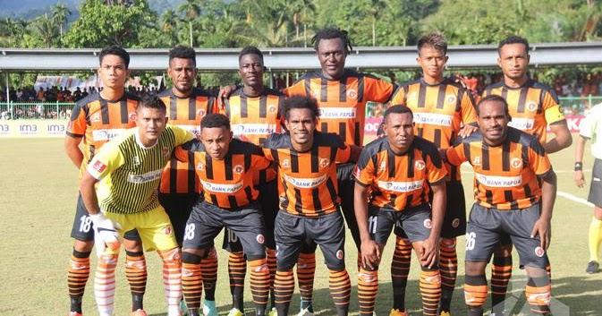 Liga-Indonesia-Persib-Bandung- Perseru Serui Squad 2019 - Hasil Prediksi