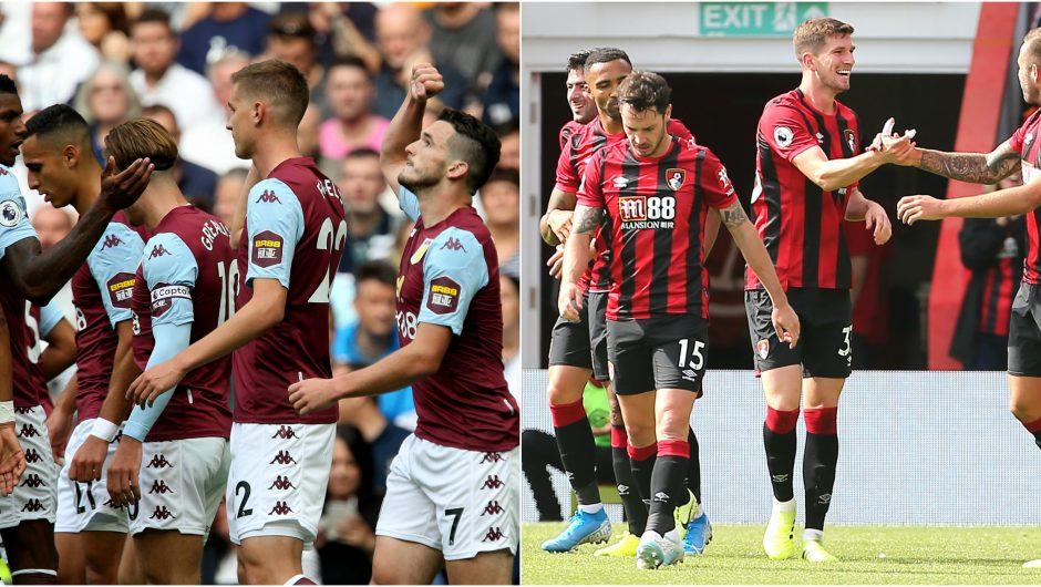 Liga Inggris - Aston Villa vs Bournemouth 2019 - Hasil Prediksi
