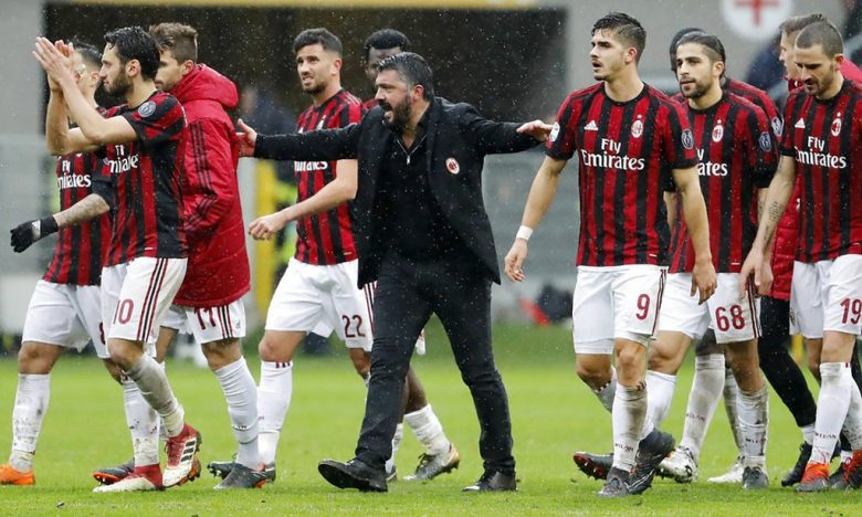 Prediksi Jitu Sepakbola - Ac Milan Squad 2019 - Hasil Prediksi