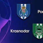 Prediksi Liga Champion - Porto Vs Krasnodar - Hasil Prediksi