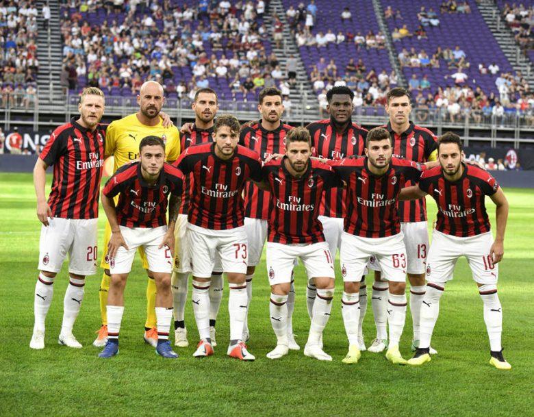Prediksi Liga Premier 2019 - Ac Milan Squad - Hasil Prediksi