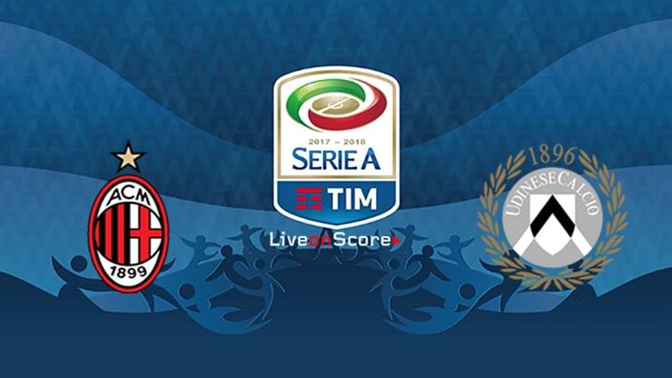 Prediksi Liga Premier 2019 - Ac Milan vs Udinese - Hasil Prediksi