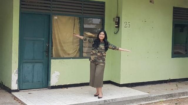Anissa berkunjung ke rumah dinas pertamanya