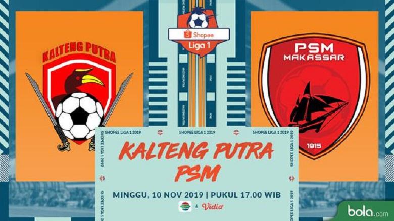 Photo of PSM Makassar Menang, Kalteng Putra Merangkak Di Klasemen Liga 1