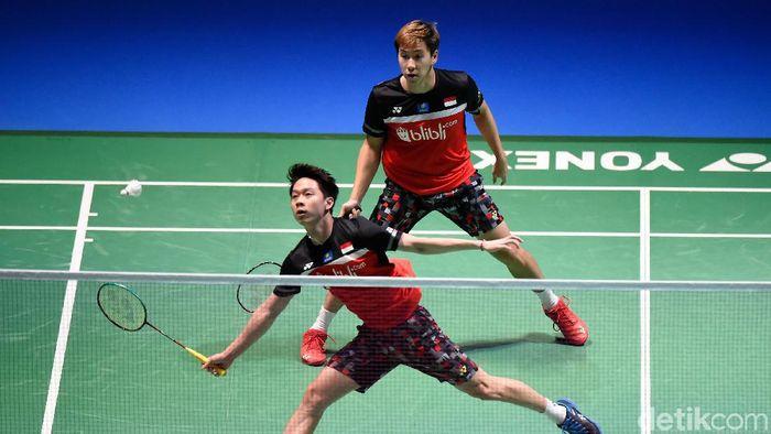 Kevin/Marcus Maju ke Semifinal Fuzhou China Open
