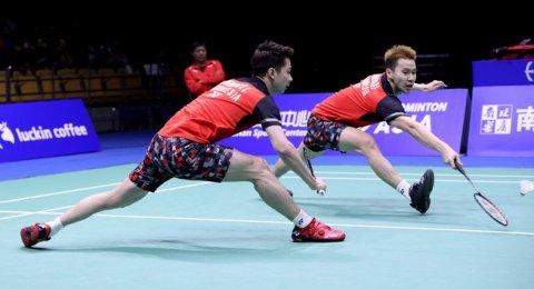 Kevin/Marcus Maju ke Semifinal Fuzhou China Open, Hendra Kandas 2019 1