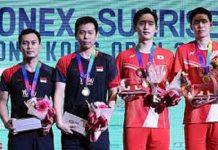 Hendra Ahsan Melanggeng ke Semifinal Hong Kong Open