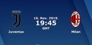 Prediksi Juventus vs AC Milan November