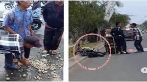 Photo of 1 Satpam Penjaga Kawasan Elit di Bekasi Usir Tukang Bakso Secara Brutal, Gerobak Ditabrak Motor Trail