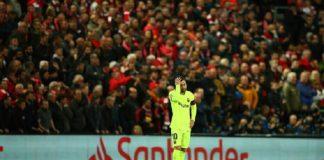 Barcelona Dihabisi Liverpool Lionel Messi