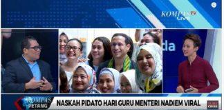 Jokowi Berkata Ini Pilihan Yang Sangat Tepat Karena Pidato Nadiem Makarim Menjadi Viral