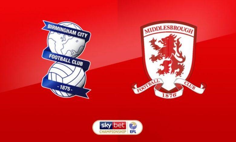 Prediksi Bola Birmingham vs Middlesbrough 19 Desember 2020 1