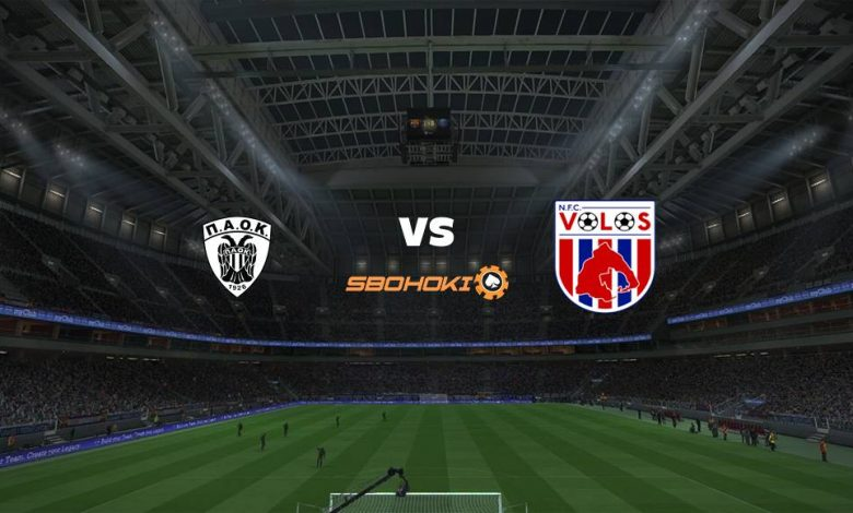 Live Streaming  PAOK Salonika vs Volos NFC 10 Januari 2021 1