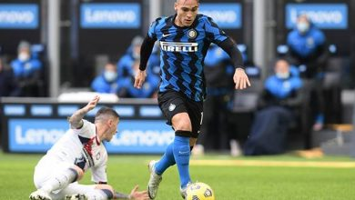 Photo of Hat-trick Lautaro Martinez Bawa Inter ke Puncak Klasemen