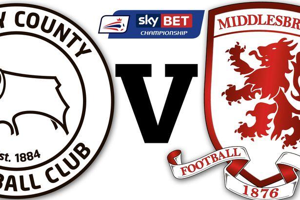 Prediksi Derby County vs Middlesbrough 1