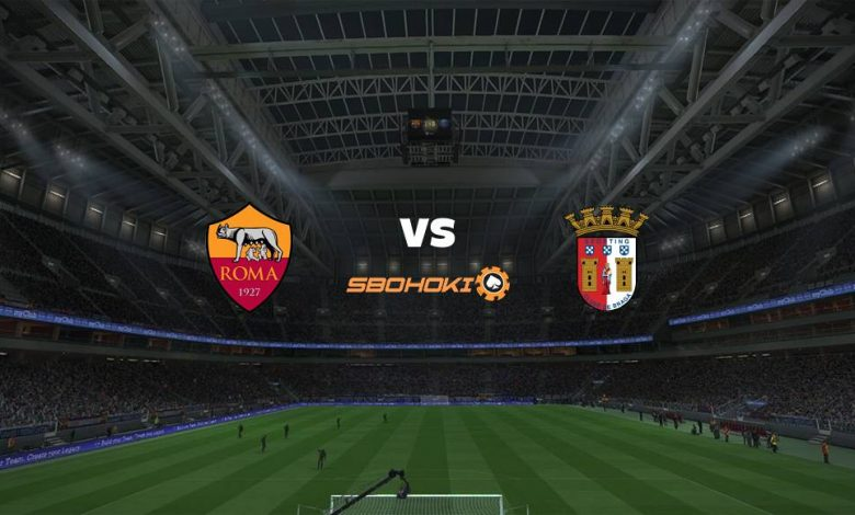 Live Streaming  Roma vs Braga 25 Februari 2021 1