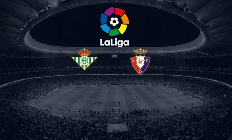 Prediksi Bola Liga Spanyol Real Betis vs Osasuna Selasa 2 Februari 2021 1