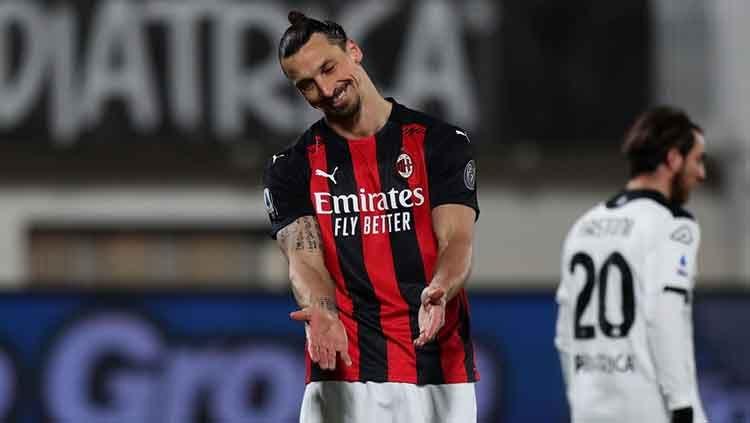 Tak Naik Gaji, AC Milan Sedikit Lagi Perpanjang Kontrak Ibrahimovic 1