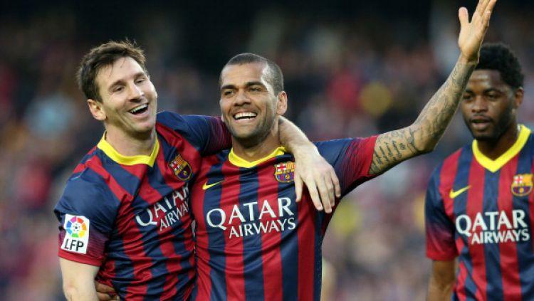 Dani Alves Bongkar Kejelekan Barcelona & Sanjung Lionel Messi Terbaik Dunia 1
