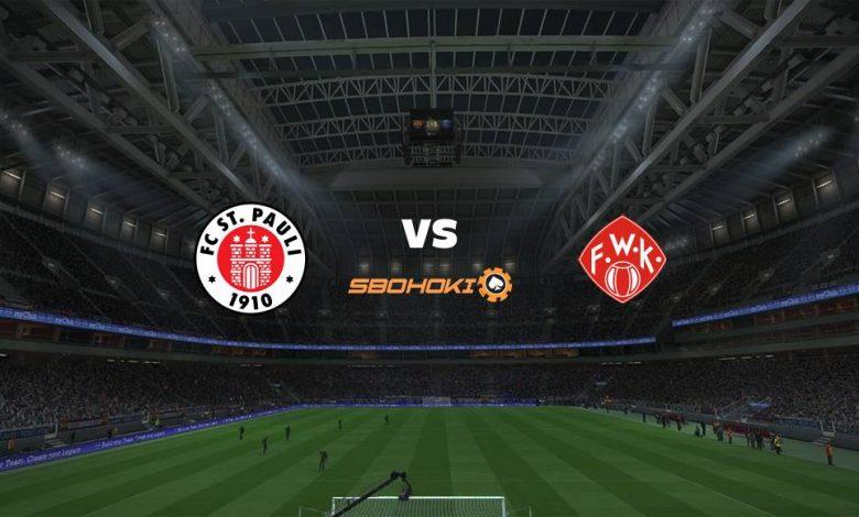 Live Streaming St Pauli vs Wrzburger Kickers 17 April 2021 1