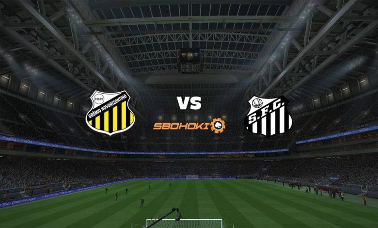 Live Streaming Novorizontino vs Santos 24 April 2021 1