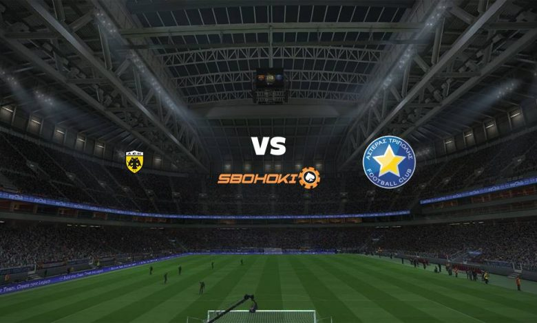 Live Streaming AEK Athens vs Asteras Tripoli 18 April 2021 1