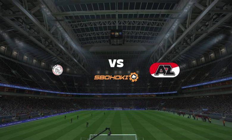 Live Streaming Ajax Amsterdam vs AZ Alkmaar 25 April 2021 1