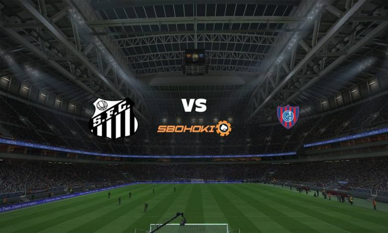 Live Streaming Santos vs San Lorenzo 14 April 2021 1