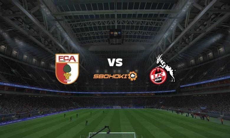 Live Streaming FC Augsburg vs FC Cologne 23 April 2021 1