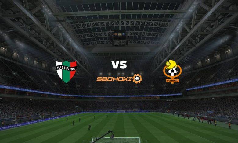 Live Streaming Palestino vs Cobresal 9 April 2021 1