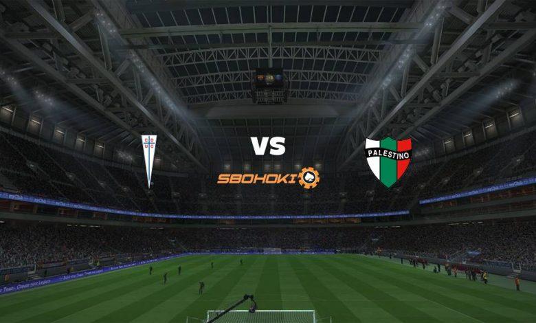 Live Streaming Universidad Catlica vs Palestino 4 April 2021 1