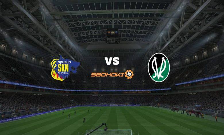 Live Streaming St. Plten vs SV Josko Ried 27 April 2021 1