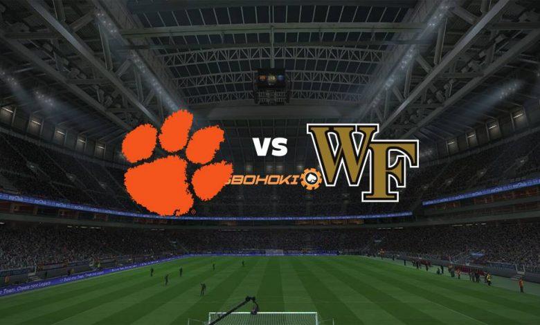 Live Streaming Clemson vs Wake Forest 2 April 2021 1