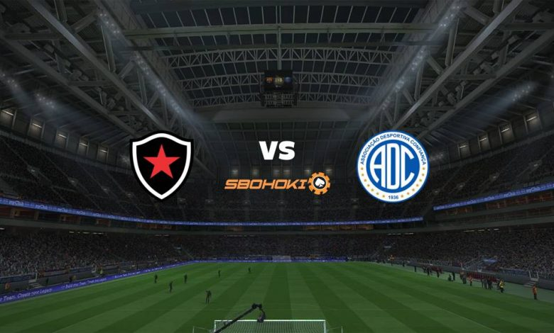 Live Streaming Botafogo PB vs Confiana 5 April 2021 1