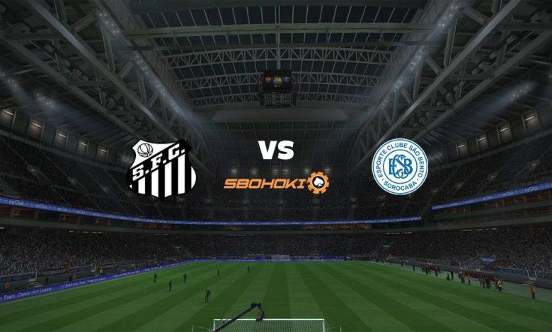 Live Streaming Santos vs So Bento 25 April 2021 1