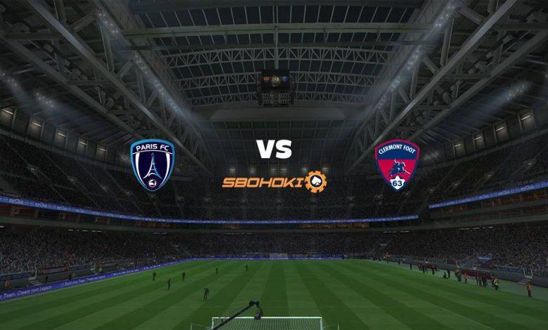 Live Streaming Paris FC vs Clermont Foot 20 April 2021 1