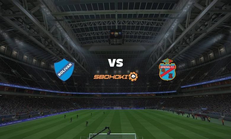 Live Streaming Bolvar vs Arsenal de Sarand 22 April 2021 1