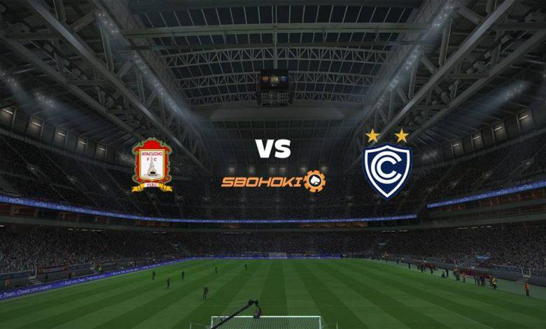 Live Streaming Ayacucho FC vs Cienciano del Cusco 23 April 2021 1