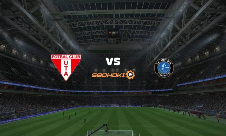 Live Streaming UTA Arad vs Viitorul Constanta 16 April 2021 1