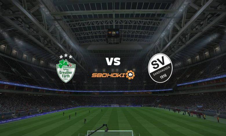 Live Streaming SpVgg Greuther Furth vs SV Sandhausen 9 April 2021 1