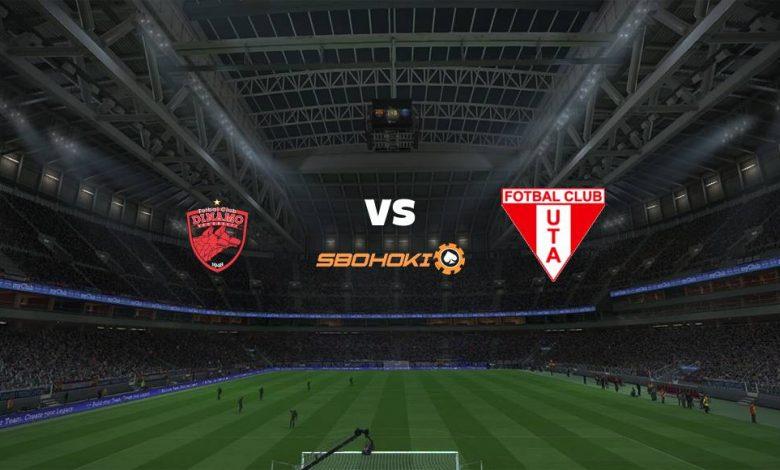 Live Streaming Dinamo Bucuresti vs UTA Arad 20 April 2021 1