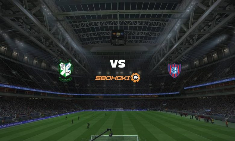 Live Streaming Platense vs San Lorenzo 10 April 2021 1