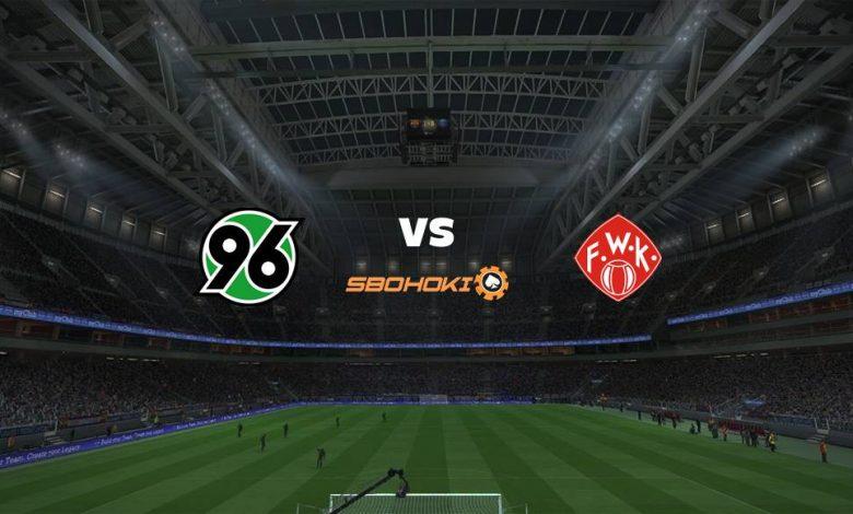 Live Streaming Hannover 96 vs Wrzburger Kickers 8 April 2021 1