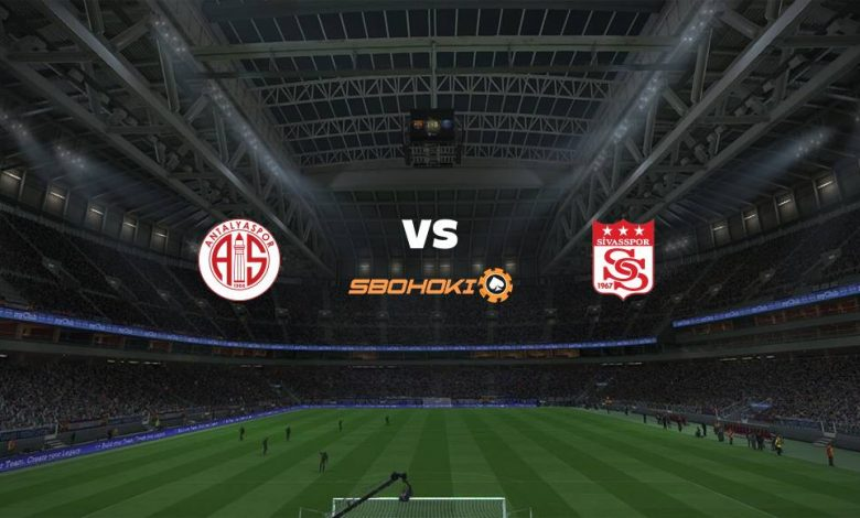 Live Streaming Antalyaspor vs Sivasspor 7 April 2021 1