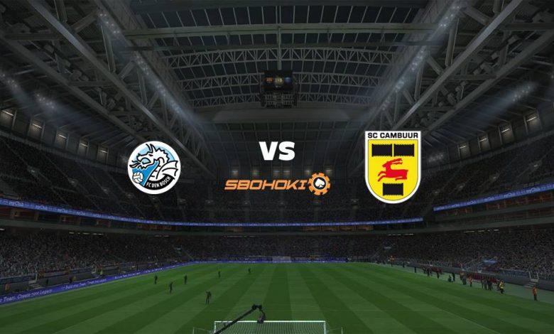 Live Streaming FC Den Bosch vs SC Cambuur 9 April 2021 1