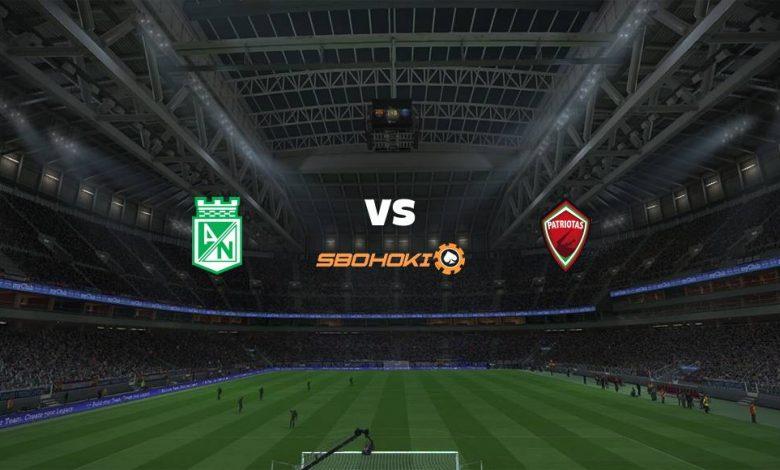 Live Streaming Atltico Nacional vs Patriotas 18 April 2021 1