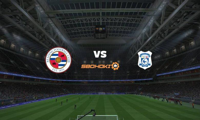 Live Streaming Reading vs Cardiff City 16 April 2021 1