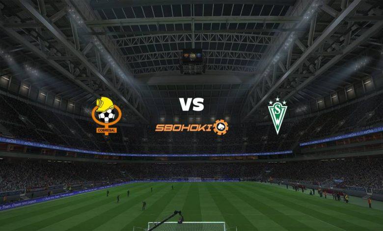 Live Streaming Cobresal vs Santiago Wanderers 18 April 2021 1