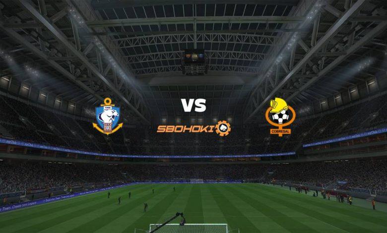 Live Streaming Antofagasta vs Cobresal 24 April 2021 1